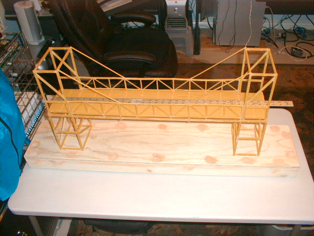 how to make a stable spaghetti bridge