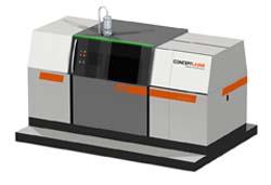 Large format LaserCUSING machine