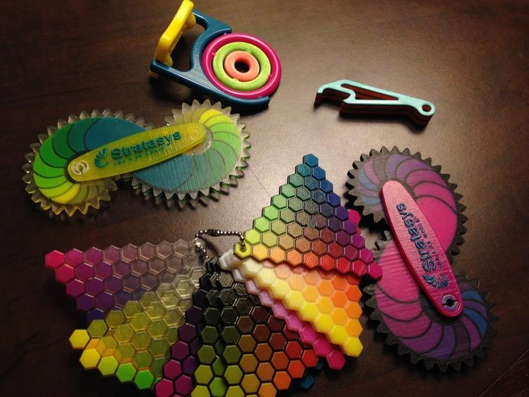 3d printing, color, stratasys, connex, future, materials,