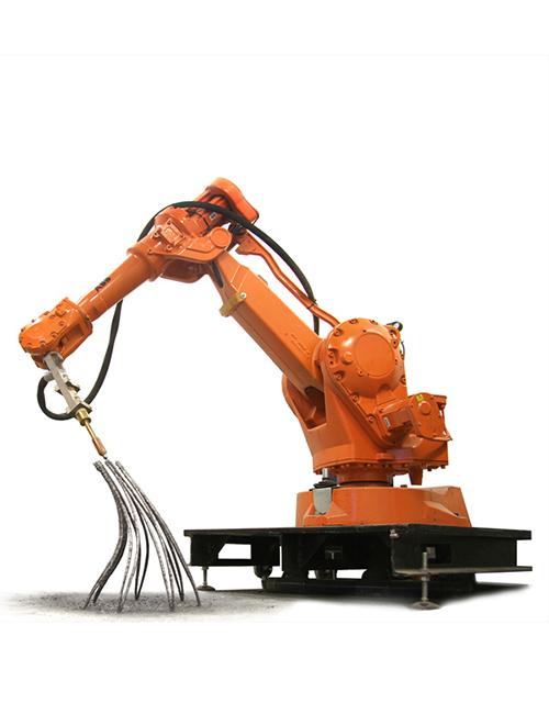 3d printing, robot, metal, IAAC, Holland, gravity, support