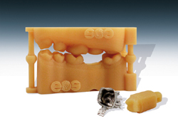 Sintered dental components