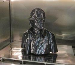 #D-printed Jefferson statue