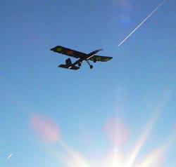 UAS's first flight