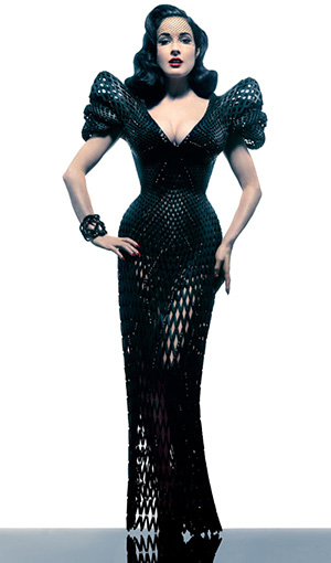 The World S First 3d Printed Dress