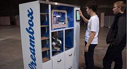 vending machine, UC berkley, student