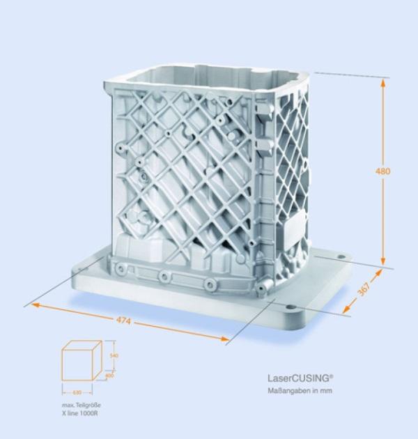 concept laser debuts its largest 3d printer. Black Bedroom Furniture Sets. Home Design Ideas