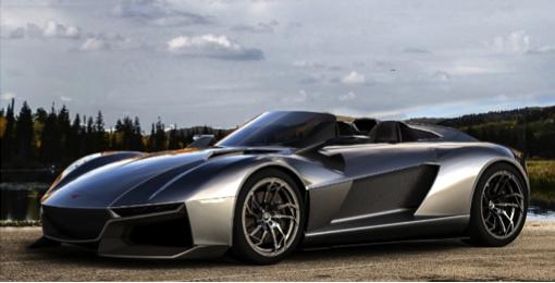 Rezvani, supercar, 3d printing, components, automotive, design