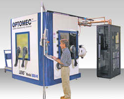 LENS 850-R direct metal machine