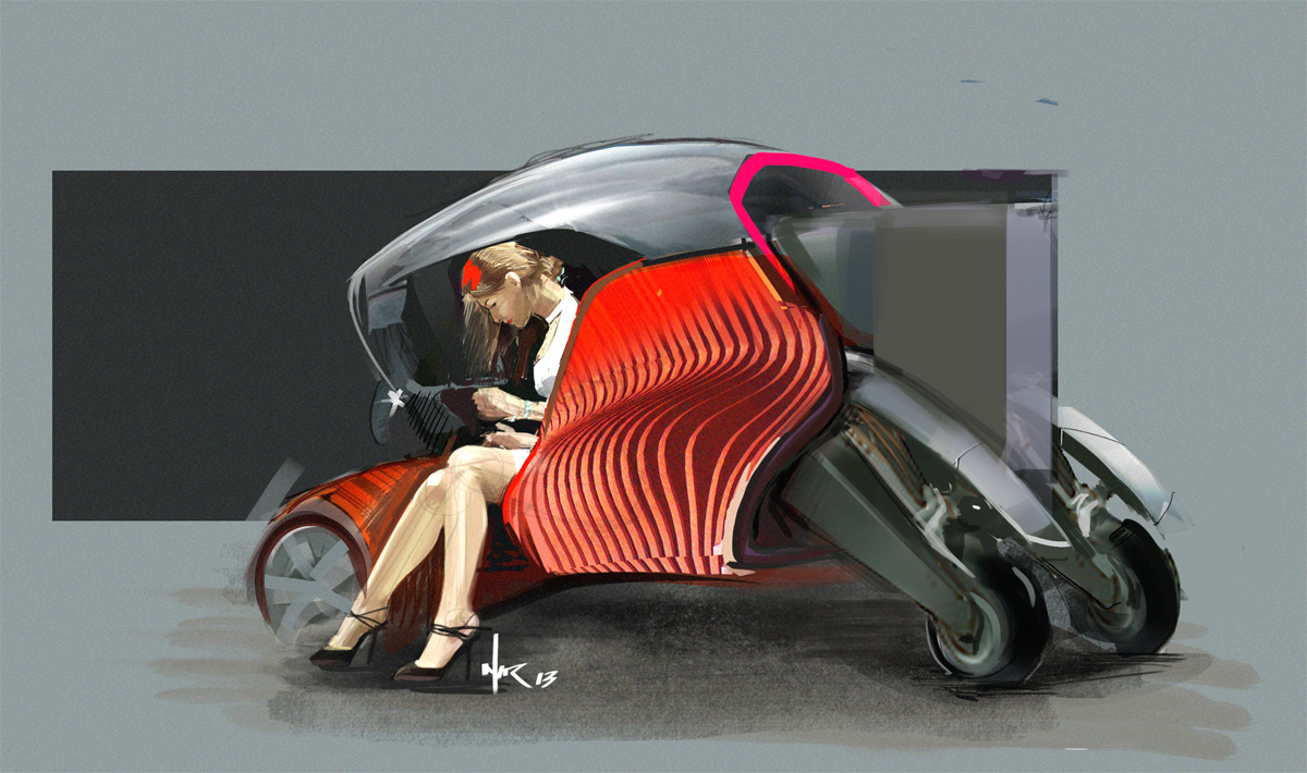 Nir Siegel a Vehicle Design