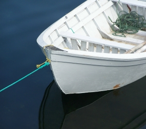 Boat Made With Plastic via 3D Printer