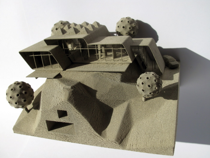 beirut, shop, manufactory, concrete, architecture, model