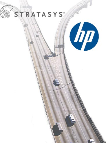 Split of HP and Stratasys