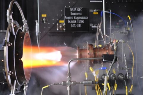 3d printing, NASA, rocket, injector,