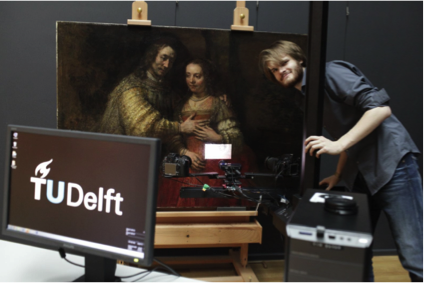 3D printing, 3d scan, art, painting Delft, research, Holland, Dutch, Van Gogh, Rembrandt