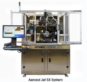 3d printing, electronics, optomec, 5-axis, aerosol