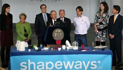 Shapeways NYC ribbon cutting