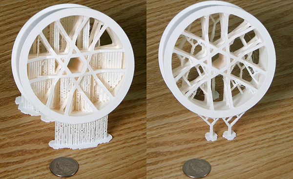 3d printing, algorithm, speed, waste, support