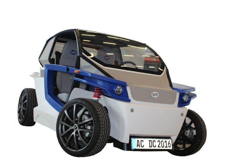3d printing, germany, EV, car, stratasys