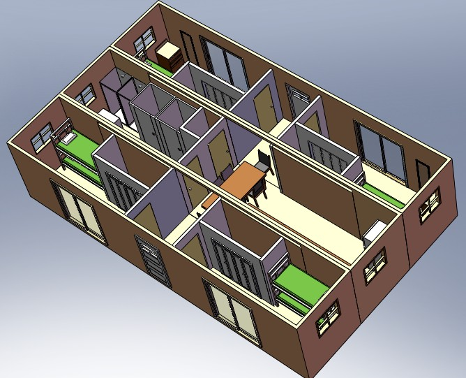 Architectural Designs With SolidWorks
