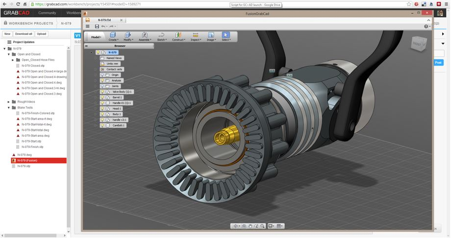 Collaborative Cad In The Cloud From Autodesk And Grabcad