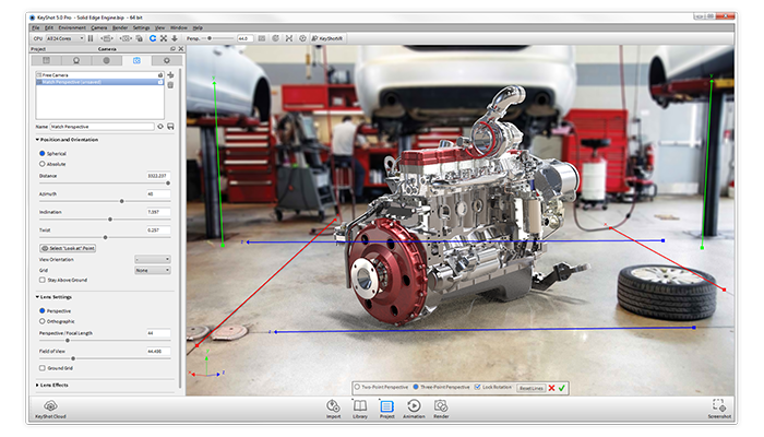 What S New In Keyshot 5 2 Solidworks 2015 Support And