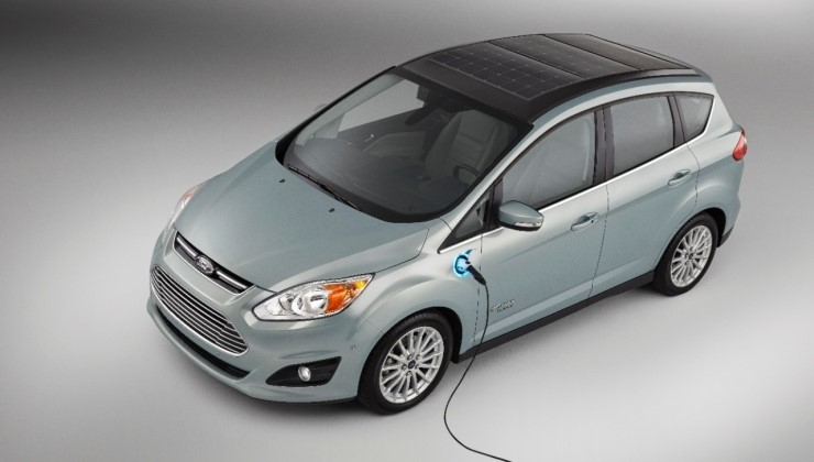 ford, hybrid, solar, concept, car, auto, mpg, green