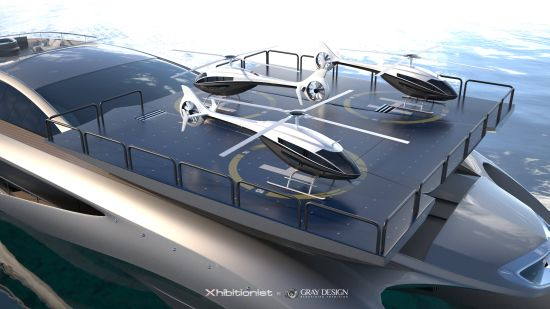 The Xhibitionist Is A Yacht And Floating Office