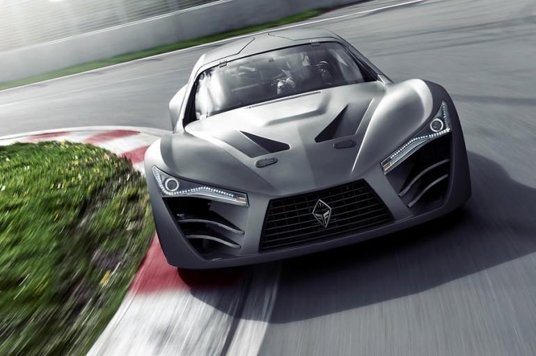 Felino, supercar, racer, racecar, track, road, HP, Quebec, Canada, V8, aluminum
