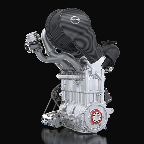 Nissan, ZEOD, car, design, auto, F-1, engine, HP,