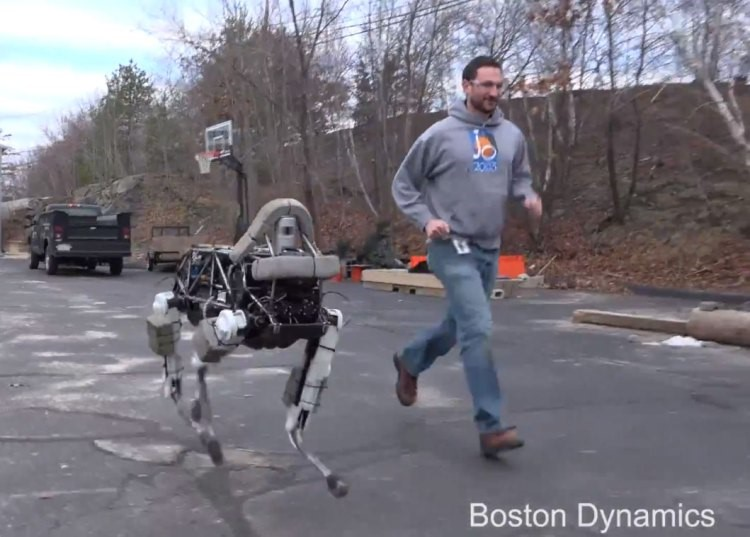 Google Big Dog Robot Video