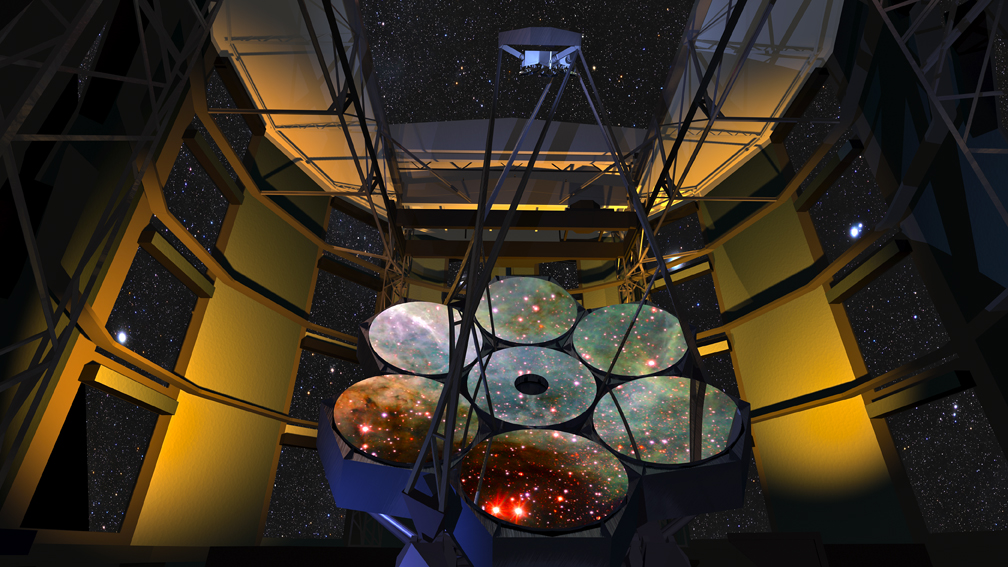 telescope, mirror, atacama, desert, space, stars, astronomy