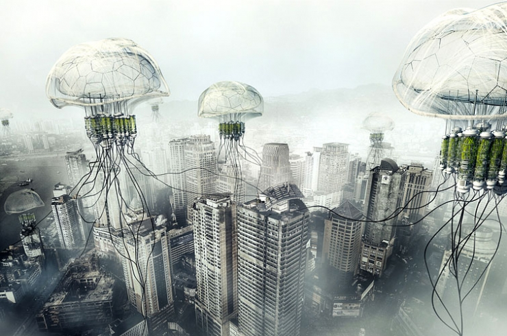 china, pollution, air, jellyfish, filter