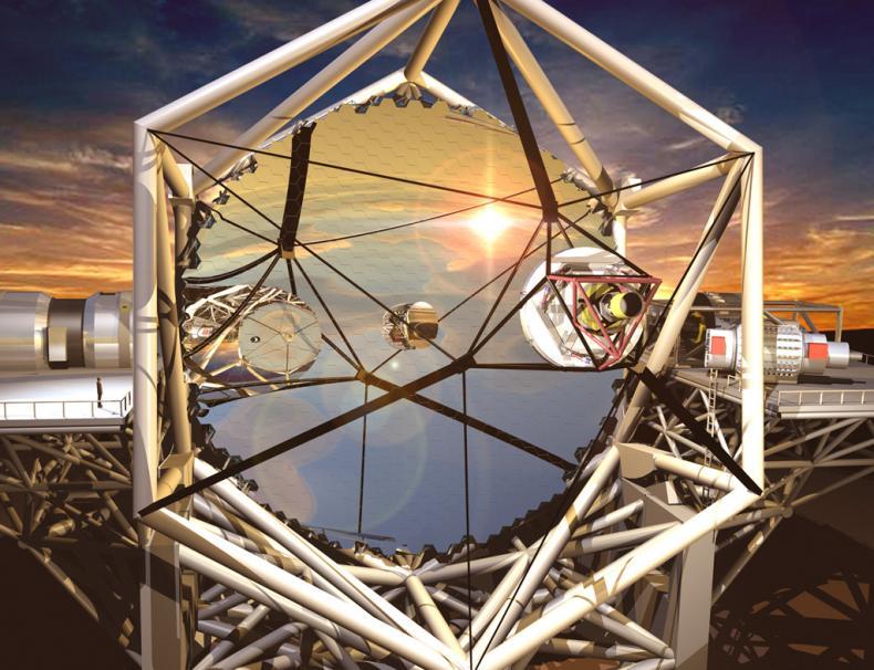 telescope, mirror, hawai'i