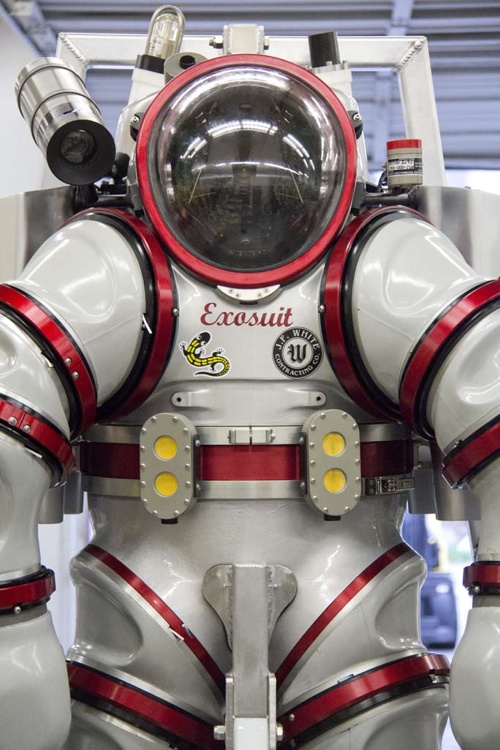 exosuit, dive, science, biology, ocean, exploration, discovery
