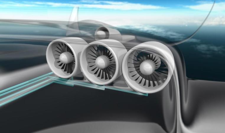 EADS, airplane, hybrid, paris, air show,