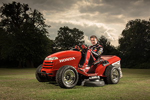 mower, honda, tractor, speed, racing, UK,