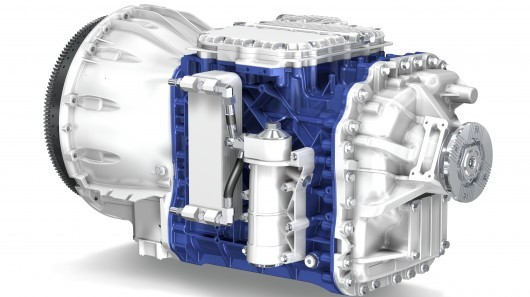 Semi Truck Transmissions : Volvo gearbox gives semis a boost gt engineering