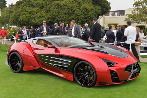 supercar, laraki, pebble beach, million, car, carbon fiber, yacht, octane, fuel, speed