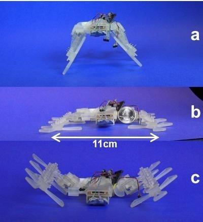 3D Printed Bug Robot Can Squeeze Under Your Door