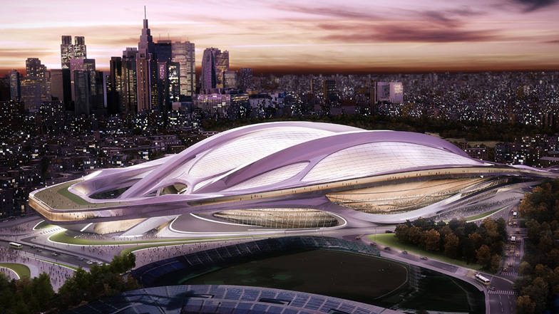 Tokyo, Olympics, Zaha Hadid, Architecture, Stadium, Sports,