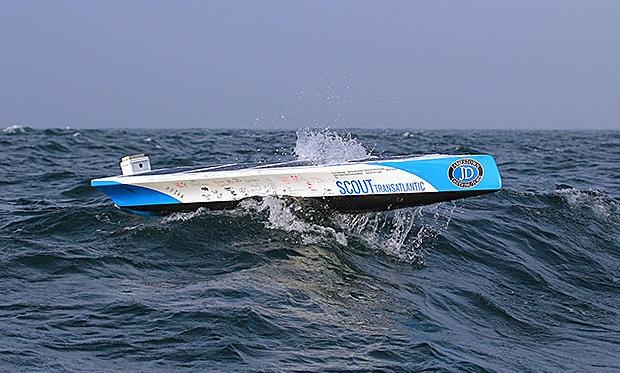 boat, spain, robot, DIY, autonomous, students