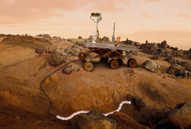 snake, robot, mars, ESA, NASA, space, geology
