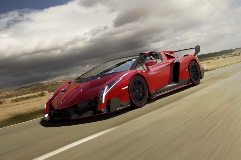 Lamborghini Veneno Supercar Expensive Price Convertible Acceleration