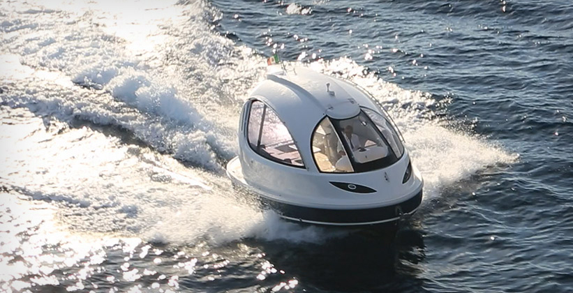 jet capsule the mini pod like yacht gt engineering
