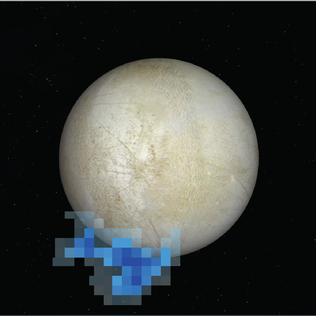 Hubble Catches A Glimpse Of Europa's Ice Jets ...