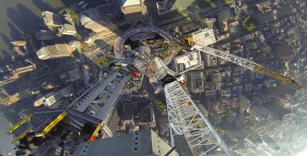 nyc, tower, world trade center, video, gopro, spire, tv, antenna, radio