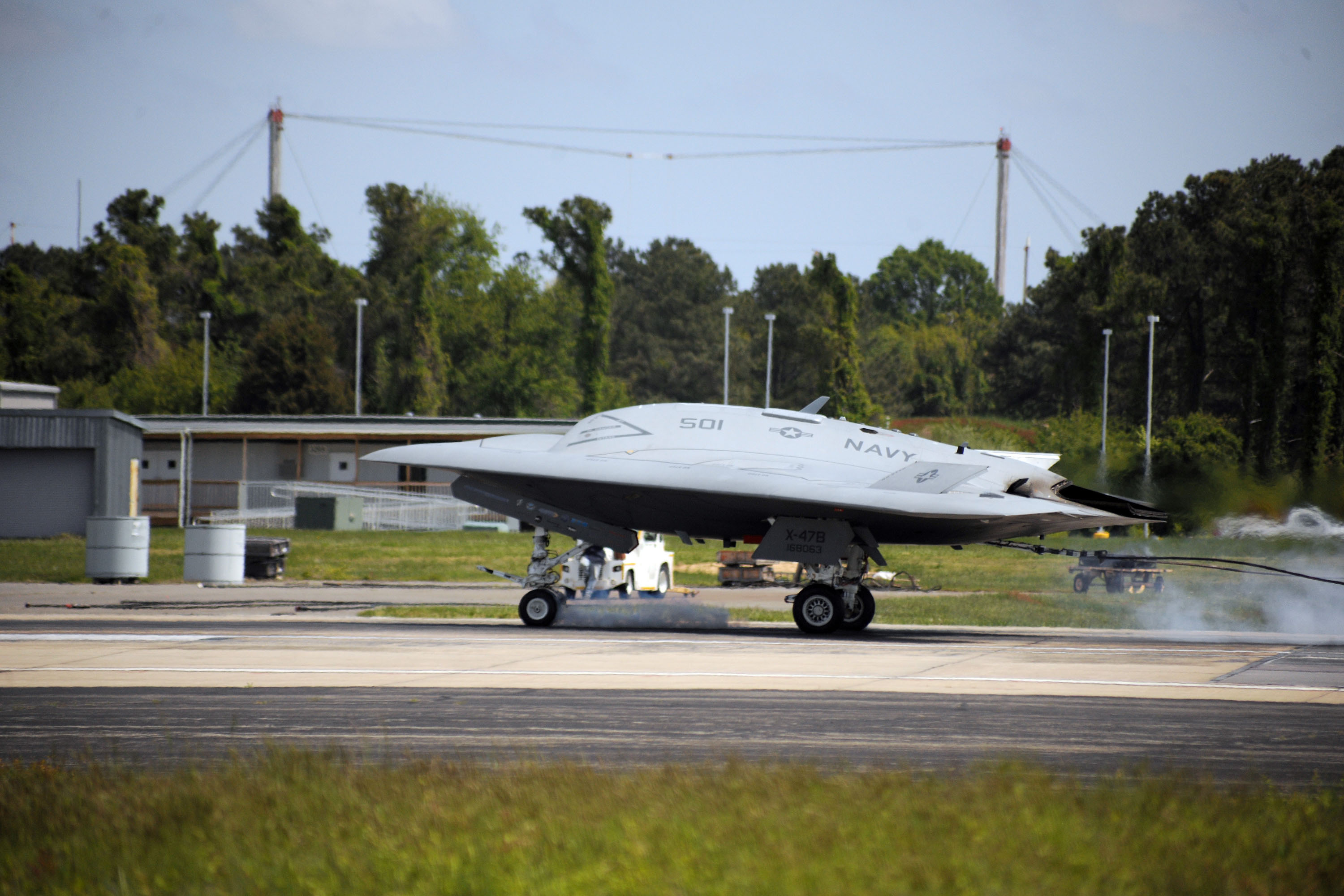 x-47b, carrier, landing, UAV, drone, airplane, aircraft, spy, stealth