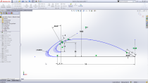 Quickly define and adjust conic curves with just a couple of inputs