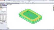 Users can select common regions created by multiple solid and surface bodies