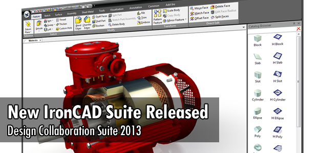 New IronCAD Suite Released